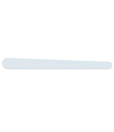 SPATULE TPM PVC BLANC  13.5 CM