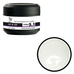 GELS PRO 3.1 FRENCH BLANC
