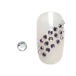 STRASS ONGLES ARGENT SS3 X 100