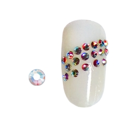 STRASS ONGLES AURORE BOREALE SS3 X100
