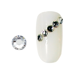 STRASS POUR ONGLES  ARGENT X20 SS10
