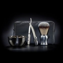 MEN STORIES BARBER TROUSSE (1rasoir, 1bol, 1blaireau)