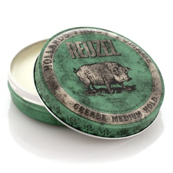 REUZEL POMADE GREASE GREEN 113G