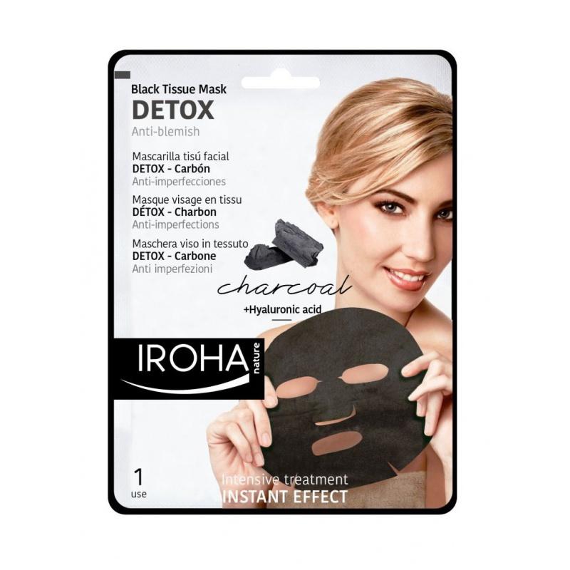 Iroha detox charbon masque visage - Masque visage a mettre au frigo ...